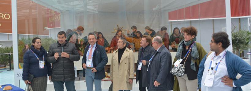 Un momento all'Expo di Milano caltanissetta presente
