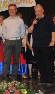 Michele Bruccheri e Padre Galante