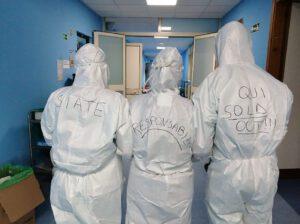 Operatori in reparto Covid per zona rossa marianopoli e resuttano